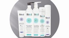 Set pro jemné a mastící se vlasy ALOXXI