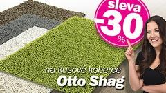 Kusové koberce OTTO SHAG | sleva 30 %