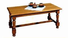 Rustikální konferenční stůl ALDA  | sleva 1 800 Kč